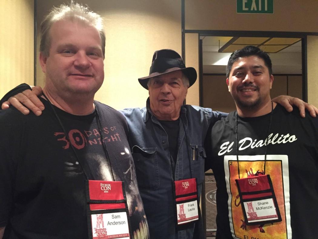 Sam W. Anderson, Frank Lauria and Shane McKenzie