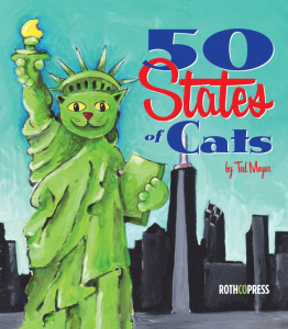 50 States of Cats by Ted Meyer