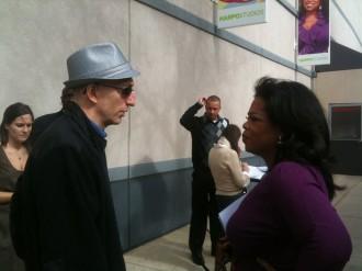 Jim Clemente with Oprah Winfrey