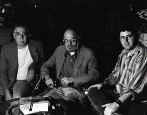 Harry Cohen, Alan Ginsberg and a clean shavin' Rob Cohen circa 1994.