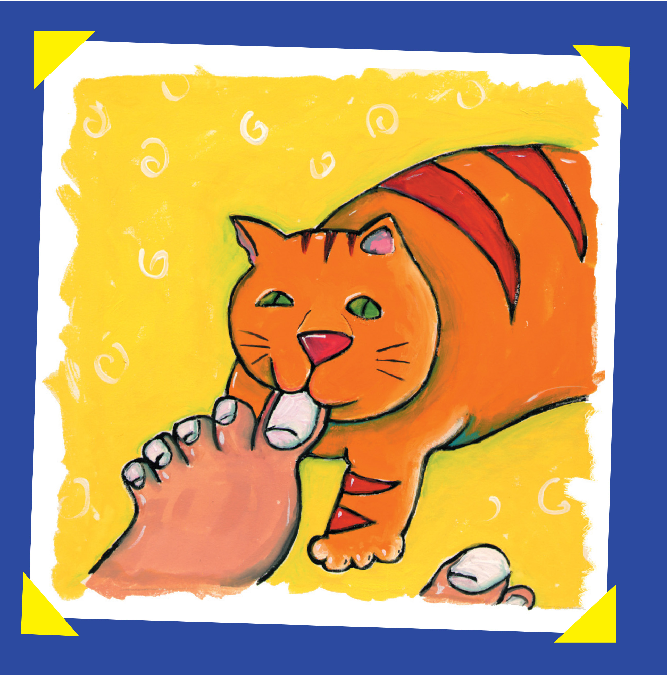 Kitty Toes: The Butt Hello, © 2015, Ted Meyer