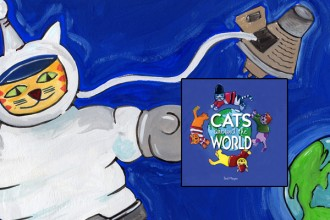 Cats in Space, Cats Around the World, © 2015, Ted Meyer