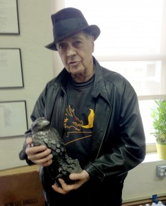 Frank Lauria and the Maltese Falcon.