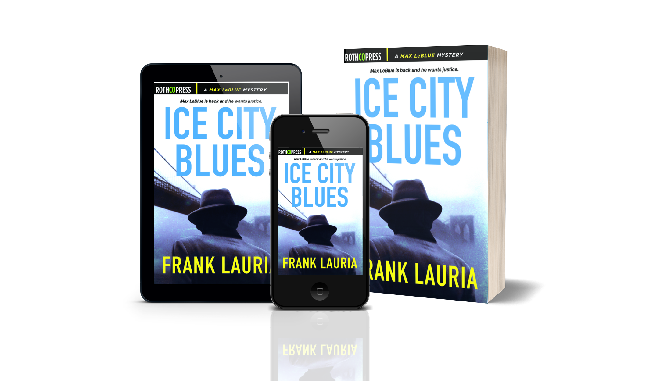 Ice City Blues by Frank Lauria