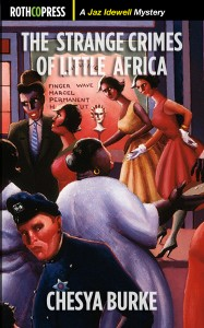 """The Strange Crimes of Little Africa"" by Chesya Burke. Coming this fall to Rothco Press."